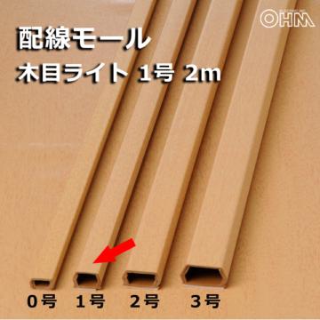 モール 1号 木目ライト 2m×1本 [品番]00-4567