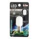 LEDナツメ球 常夜灯 E12 昼白色 [品番]07-6461