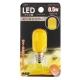 LEDナツメ球 常夜灯 E12 黄 [品番]07-6497