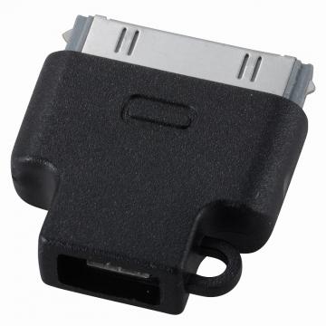 充電用 変換コネクター MicroUSB-iPhone30P [品番]01-3390