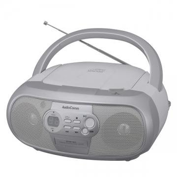 AudioComm ポータブルCDラジオ 869Z [品番]07-3869