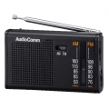 "AudioComm 横型 AM/FM <span class=""search-everything-highlight-color"" style=""background-color:orange"">ポケットラジオ</span> [品番]07-3876"
