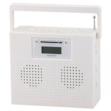 ステレオCDラジオ ホワイト [品番]07-7930