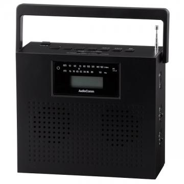 ステレオCDラジオ ブラック [品番]07-7931