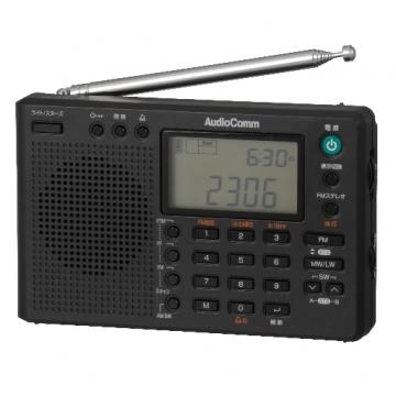 AudioComm DSPワールドレシーバー [品番]07-7968