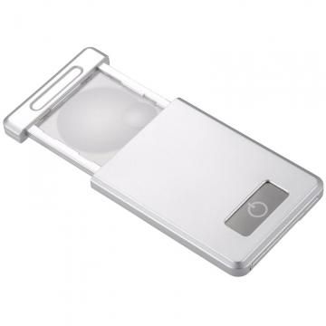 L-ZOOM レンズ収納式 ポケットルーペ [品番]07-8135