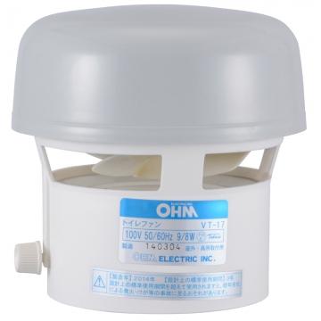 トイレ換気扇 先端型 [品番]00-6578