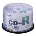 CD-R 52倍速対応 データ用 50枚 スピンドル入 [品番]01-0742