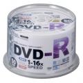 DVDーR 16倍速対応 録画用 50枚 スピンドル入 [品番]01-0750