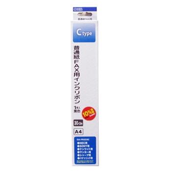 ファクス用インクリボン Cタイプ 1本入 [品番]01-1116