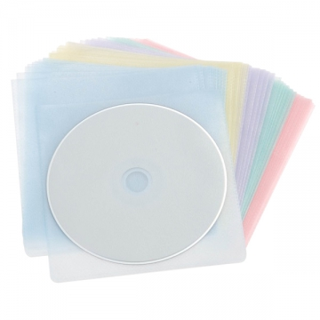 CDスリーブ 50枚入 5色 [品番]01-2040