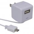 ACアダプター スマートフォン用+USB出力 [品番]01-3301