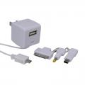 ACアダプター for マルチコネクター+USB出力 [品番]01-3303