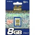 SDHCメモリーカード8GB [品番]01-3339