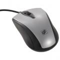 光学式マウス Mサイズ シルバー [品番]01-3541