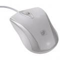 光学式マウス Mサイズ ホワイト [品番]01-3543