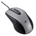 光学式マウス Lサイズ シルバー [品番]01-3546