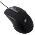 光学式マウス Lサイズ ブラック [品番]01-3548