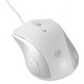 ブルーLEDマウス Mサイズ ホワイト [品番]01-3553