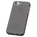 iPhone5専用 セミハードケース ブラック [品番]01-3612