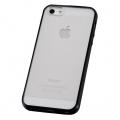 iPhone5専用 ハイブリッドケース ブラック [品番]01-3622