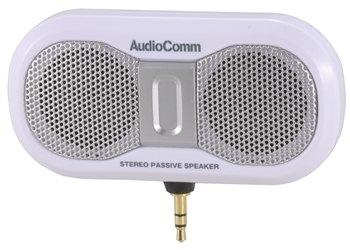 AudioComm ステレオプラグインスピーカー [品番]03-2188