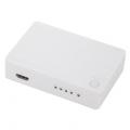 4ポート HDMIセレクター 白 [品番]05-0311