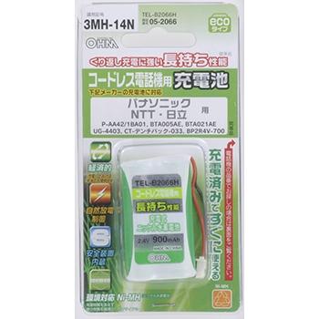コードレス電話機用充電池 パナソニック/NTT/日立 [品番]05-2066