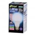 LED電球 20W形相当 E26 昼光色 広配光 密閉器具対応 [品番]06-2881