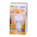 LED電球 40W形相当 E26 電球色 広配光 密閉器具対応  [品番]06-2929