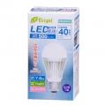 LED電球 40W形相当 E26 昼光色 広配光 密閉器具対応 [品番]06-2930