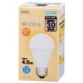LED電球 30形相当 E26 電球色 [品番]06-3133