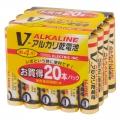 アルカリ乾電池 Vシリーズ 単4形×20本パック [品番]07-2837