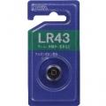 アルカリボタン電池 1個 [品番]07-3085