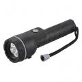 LED懐中ライト 3LED ラバーグリップ [品番]07-3852
