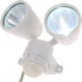 LEDセンサーライト 2灯タイプ [品番]07-5586
