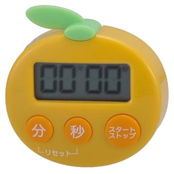キッチンタイマー オレンジ [品番]07-5990