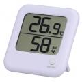 デジタル温湿度計 ホワイト [品番]08-0022