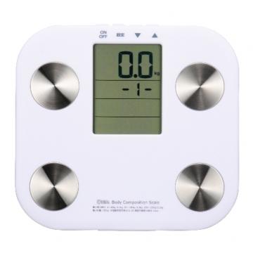 体重体組成計 ホワイト [品番]08-0035