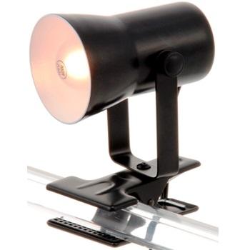 クリップライト E17ミニランプ 40W ブラック [品番]04-4989
