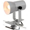 クリップライト E17ミニランプ 40W シルバー [品番]04-4990