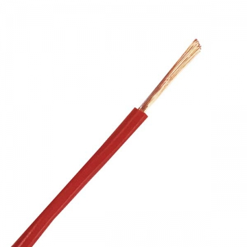VSF 1.25mm2 10m 赤 [品番]04-7386