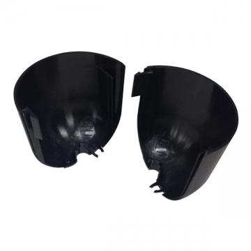 分割式シーリングカバー 黒 [品番]04-7614