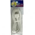 プラグ付電源コード 3m 15A-125V [品番]04-8141
