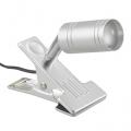 LEDクリップライト LTL-C6L シルバー 電球色 [品番]06-1305