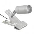 LEDクリップライト LTL-C6N シルバー 昼白色 [品番]06-1307