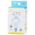 LED電球 ミニレフランプ形 E17 3.4W 昼光色 [品番]06-1334