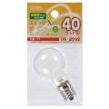 長寿命ミニクリプトン球 「ミニクリX」 E17/36W ホワイト [品番]06-2592