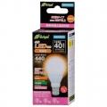 LED電球 ミニクリプトン形 40形相当 E17 電球色 広配光 [品番]06-2878