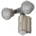 ハロゲンセンサーライト 75W×2灯 [品番]07-5568